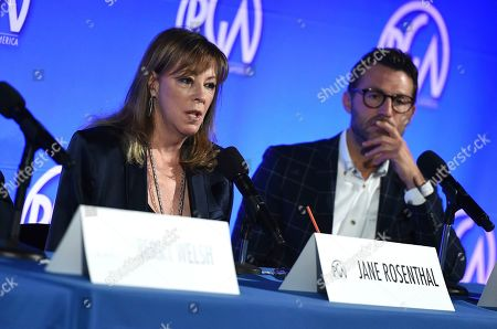 Jonathan King, Jane Rosenthal. Jane Rosenthal and Jonathan King attend the second day of the Produced By Conference 2019 on in Burbank, Calif