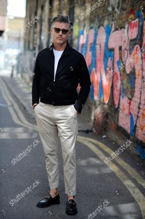 Eric Rutherford on Hanbury Street