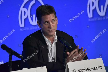 """Michael Wright participates in """"The Streamers"""" during the Produced By Conference 2019, in Burbank, Calif"""