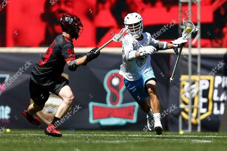 Editorial picture of PLL Atlas Chaos Lacrosse, Harrison, USA - 09 Jun 2019