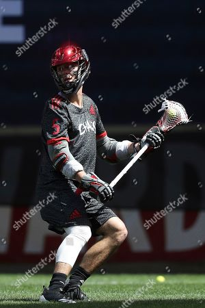Chaos' Connor Fields in action during a Premier Lacrosse League game against the Atlas on in Harrison, N.J. The Chaos won 18-13