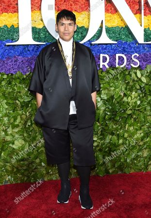 Clint Ramos arrives at the 73rd annual Tony Awards at Radio City Music Hall, in New York