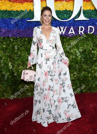 Kerry Butler arrives at the 73rd annual Tony Awards at Radio City Music Hall, in New York