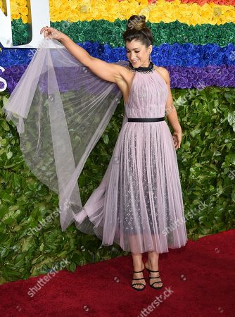 Stock Photo of Sarah Stiles arrives at the 73rd annual Tony Awards at Radio City Music Hall, in New York