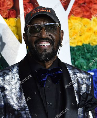 Stock Picture of Otis Williams arrives at the 73rd annual Tony Awards at Radio City Music Hall, in New York