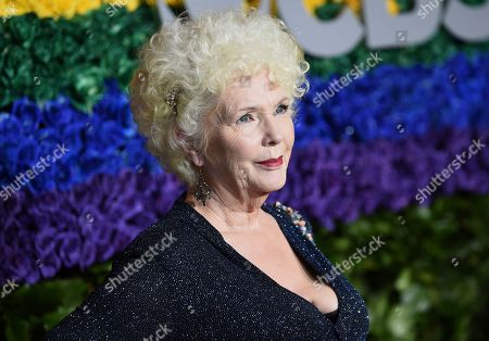Stock Photo of Fionnula Flanagan arrives at the 73rd annual Tony Awards at Radio City Music Hall, in New York