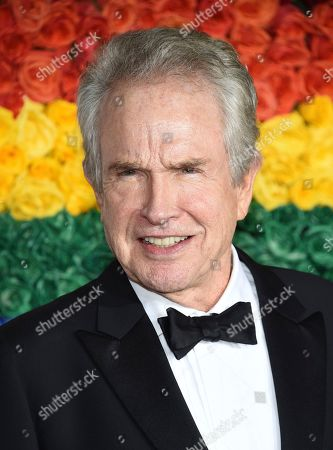 Warren Beatty arrives at the 73rd annual Tony Awards at Radio City Music Hall, in New York