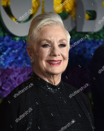 Shirley Jones arrives at the 73rd annual Tony Awards at Radio City Music Hall, in New York