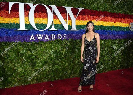 Vanessa Carlton arrives at the 73rd annual Tony Awards at Radio City Music Hall, in New York