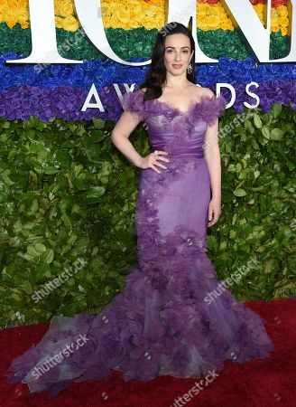 Laura Donnelly arrives at the 73rd annual Tony Awards at Radio City Music Hall, in New York