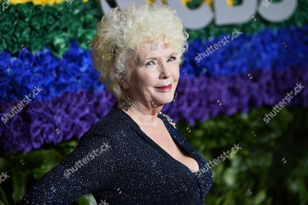 Fionnula Flanagan arrives at the 73rd annual Tony Awards at Radio City Music Hall, in New York