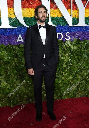Josh Groban arrives at the 73rd annual Tony Awards at Radio City Music Hall, in New York