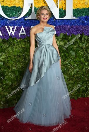 Celia Keenan-Bolger arrives at the 73rd annual Tony Awards at Radio City Music Hall, in New York