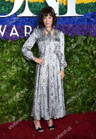 Natasha Gregson Wagner arrives at the 73rd annual Tony Awards at Radio City Music Hall, in New York