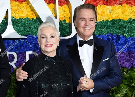 Shirley Jones, Shaun Cassidy. Shirley Jones, left, and Shaun Cassidy arrive at the 73rd annual Tony Awards at Radio City Music Hall, in New York