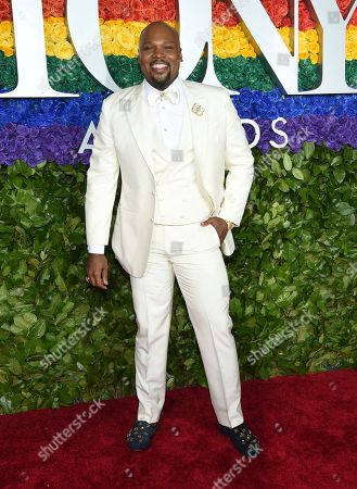 Michael James Scott arrives at the 73rd annual Tony Awards at Radio City Music Hall, in New York