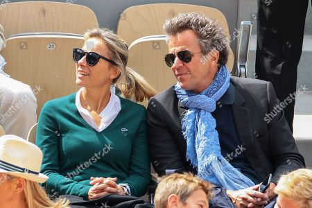 Editorial picture of Celebrities at Roland Garros French Tennis Open 2019, Day Fourteen, Paris, France - 08 Jun 2019