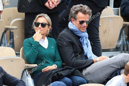 Editorial photo of Celebrities at Roland Garros French Tennis Open 2019, Day Fourteen, Paris, France - 08 Jun 2019