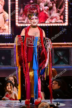 Taylor Mac speaks at the 73rd annual Tony Awards at Radio City Music Hall, in New York
