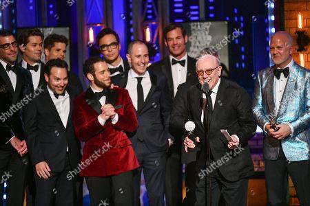Editorial photo of The 73rd Annual Tony Awards - Show, New York, USA - 09 Jun 2019