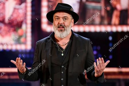Jez Butterworth speaks at the 73rd annual Tony Awards at Radio City Music Hall, in New York