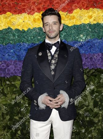 Michael Urie attends the 73rd Annual Tony Awards at Radio City Music Halll in New York, New York, USA, 09 June 2019. The annual awards honor excellence in Broadway theatre.