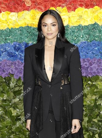 Karen Olivo attends the 73rd Annual Tony Awards at Radio City Music Halll in New York, New York, USA, 09 June 2019. The annual awards honor excellence in Broadway theatre.