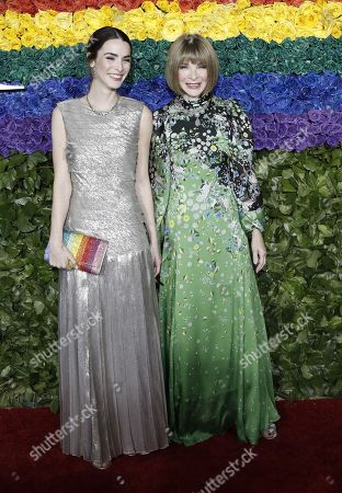 Bee Shaffer Carrozzini and Anna Wintour attend the 73rd Annual Tony Awards at Radio City Music Halll in New York, New York, USA, 09 June 2019. The annual awards honor excellence in Broadway theatre.