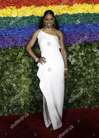 Audra McDonald attends the 73rd Annual Tony Awards at Radio City Music Halll in New York, New York, USA, 09 June 2019. The annual awards honor excellence in Broadway theatre.