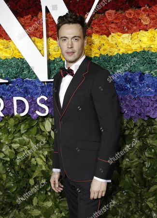 Erich Bergen attends the 73rd Annual Tony Awards at Radio City Music Halll in New York, New York, USA, 09 June 2019. The annual awards honor excellence in Broadway theatre.