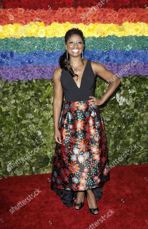 Montego Glover attends the 73rd Annual Tony Awards at Radio City Music Halll in New York, New York, USA, 09 June 2019. The annual awards honor excellence in Broadway theatre.