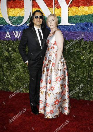 Felix Cisneros III and American Theatre Wing President and CEO Heather Hitchens attends the 73rd Annual Tony Awards at Radio City Music Halll in New York, New York, USA, 09 June 2019. The annual awards honor excellence in Broadway theatre.