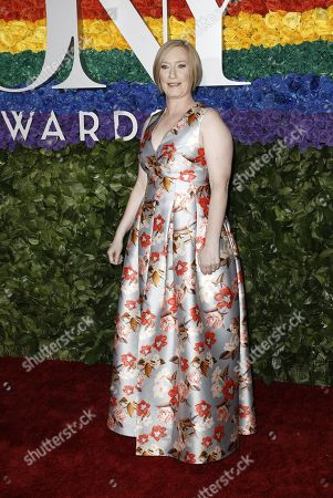 Stock Picture of American Theatre Wing President and CEO Heather Hitchens attends the 73rd Annual Tony Awards at Radio City Music Halll in New York, New York, USA, 09 June 2019. The annual awards honor excellence in Broadway theatre.