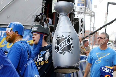 Editorial picture of Stanley Cup Bruins Blues Hockey, St. Louis, USA - 09 Jun 2019