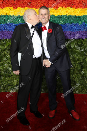 Stock Photo of Terrence McNally and Tom Kirdahy