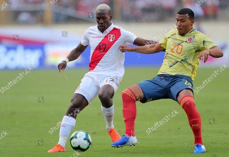Editorial picture of Peru vs Colombia, Lima - 09 Jun 2019