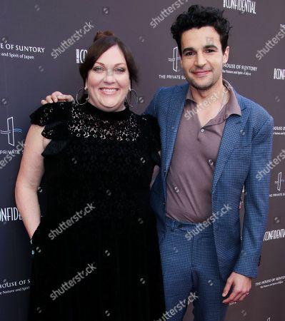 Rachel Tenner and Christopher Abbott