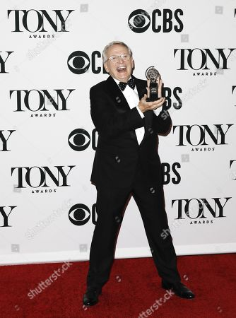 Bob Mackie, winner of the award for Best Costume Design of a Musical for 'The Cher Show' poses in the press room during the 2019 Tony Awards at Radio City Music Hall in New York, New York, USA, 09 June 2019. The annual awards honor excellence in Broadway theatre.