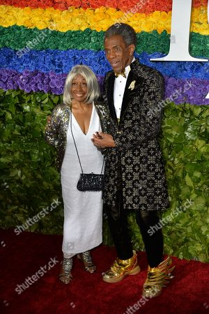 Andre de Shields and guest