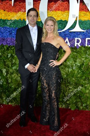 Stock Picture of Greg Nughton and Kelli O'Hara