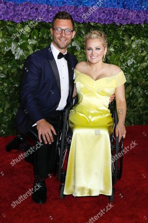 David Perlow and Ali Stroker