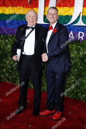 Stock Image of Terrence McNally and Tom Kirdahy