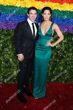 Stock Picture of Jarrod Spector and Kelli Barrett
