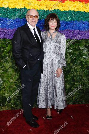 Stock Photo of Mart Crowley and Natasha Gregson Wagner