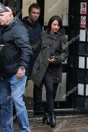 Liam Gallagher and Debbie Gwyther