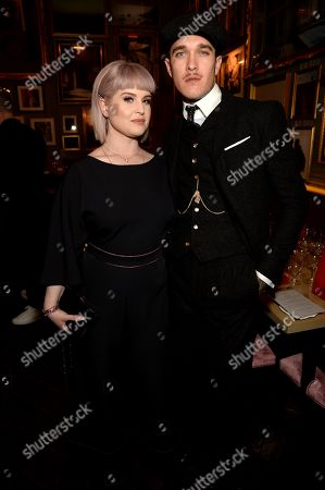 Stock Picture of Kelly Osbourne and Jimmy Q