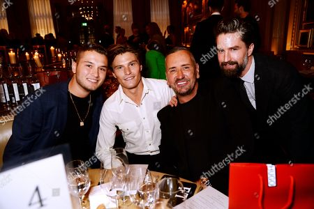Rafferty Law, Oliver Cheshire, Fat Tony and Jack Guinness