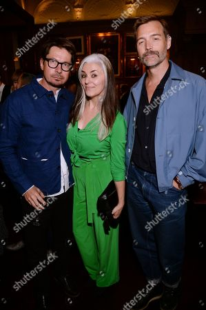 Oliver Spencer, Catherine Hayward and Patrick Grant