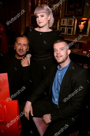 Fat Tony, Kelly Osbourne and Russell Tovey
