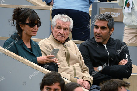 Ary Abittan and Claude Lelouche